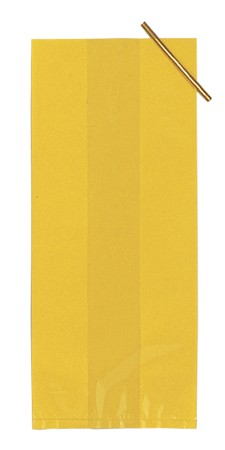 Yellow Small Solid Cello Bag