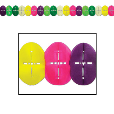 Easter Egg Garland 6.25in x 12ft