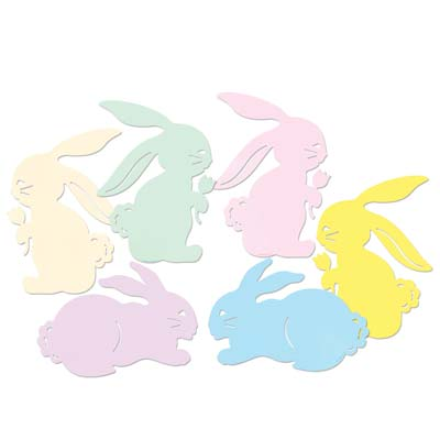 Bunny Silhouettes 15.5in