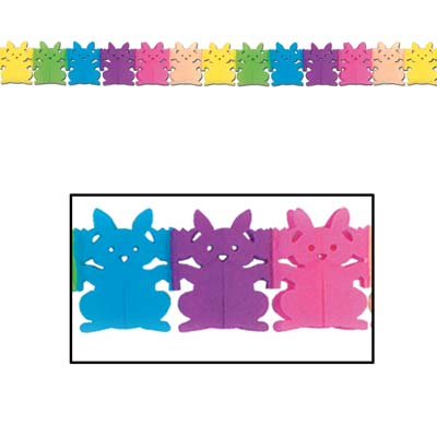 Bunny Garland 5.25in x 12ft
