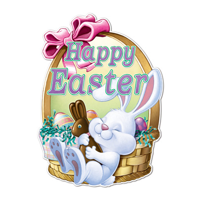 Happy Easter Sign 24 x 18 in.
