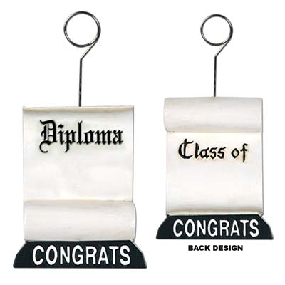 Diploma Photo Balloon Holder 6 Oz