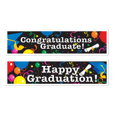 Graduation Banners 15in x 5ft