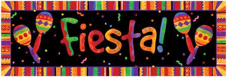 Festive Fiesta Giant Party Banner