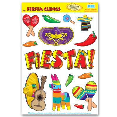 Fiesta Clings 12 x 17in