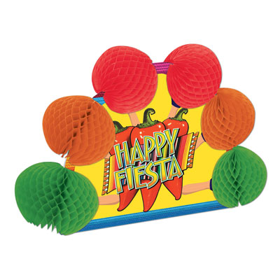 Fiesta Pop-Over Centerpiece 10in