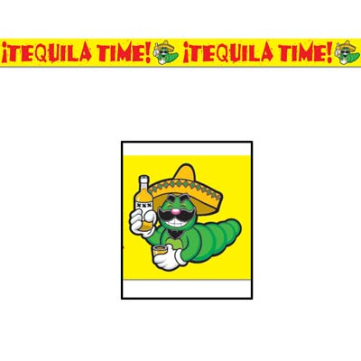 Tequila Time Party Tape 3in x 20ft