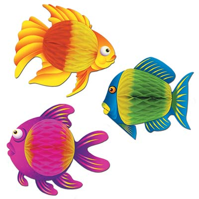 Color-Brite Tropical Fish 8 x 6