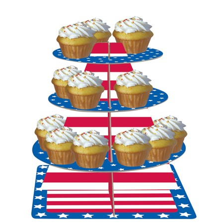 Stars & Stripes Tiered Server