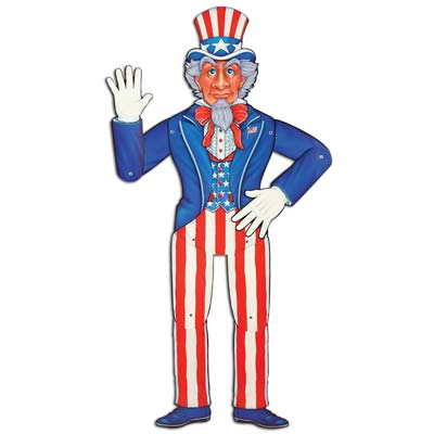 Jointed Uncle Sam 3ft