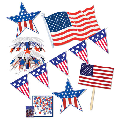 Patriots Decorating Kit - 7pc