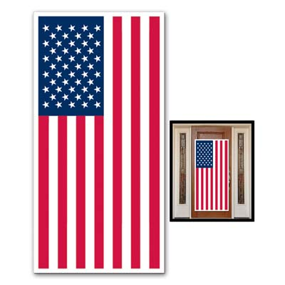 American Flag Door Cover 30in x 5ft