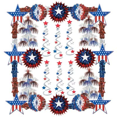 Patriotic Reflections Decorating Kit - 28ct