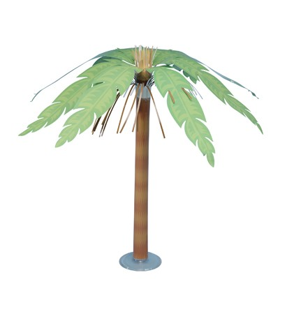 Palm Tree Paper 15 Centerpiece