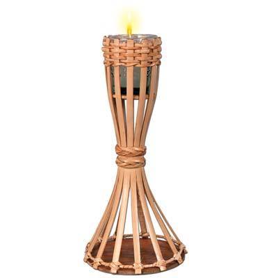 Tabletop Bamboo Torch 11
