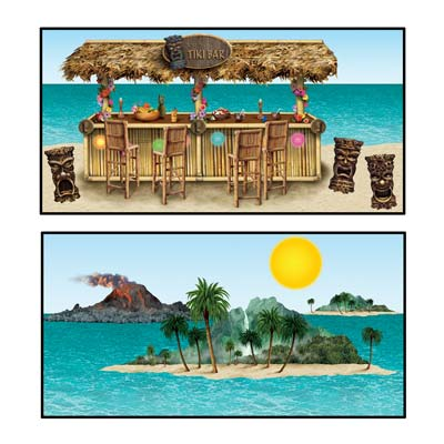 Tiki Bar & Island Props 9in - 4ft 5in