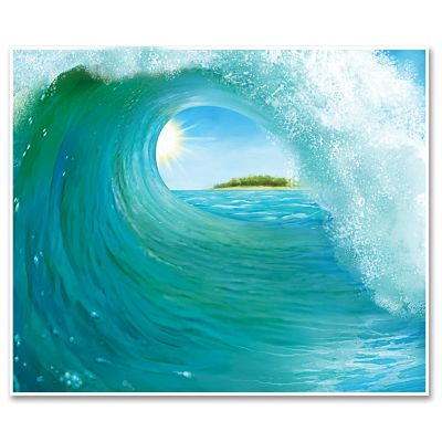 Surf Wave InstaMural 5x6ft