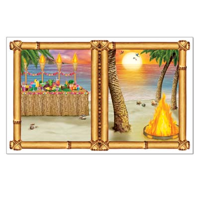 Luau Sunset InstaView 3ft 2in x 5ft 2in