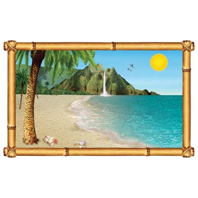 Tropical Beach InstaView 3ft 2in x 5ft 2in