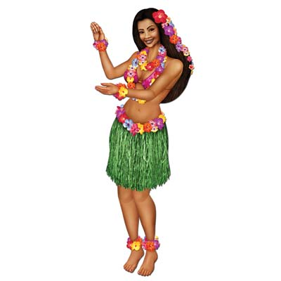 Jointed Hula Girl 3' 2