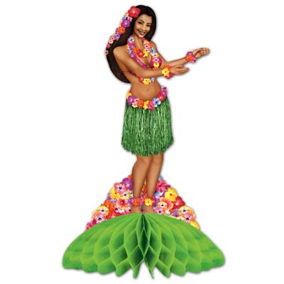 Hula Centerpiece 14