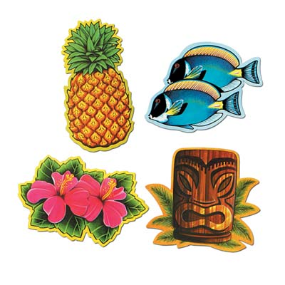 Luau Cutouts 12in
