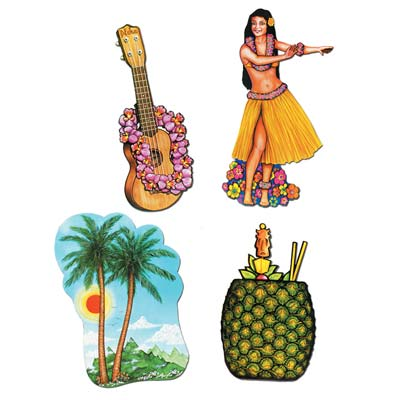 Luau Cutouts 17-20 in