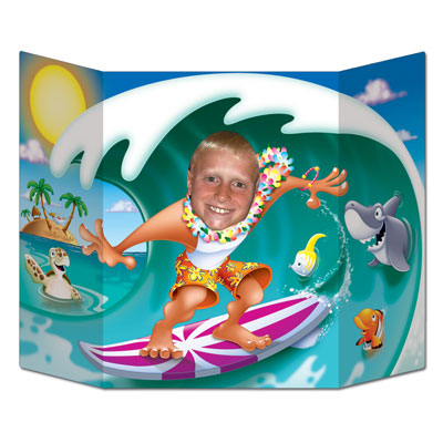 Surfer Dude Photo Prop 3ft 1in x 25in