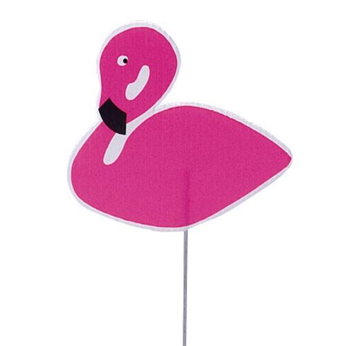 Pink Flamingo Yard Markers