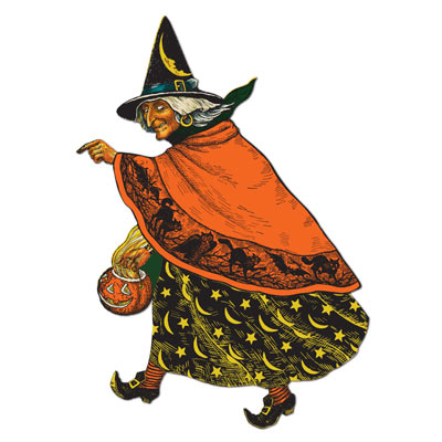 Classic Witch Cutout 19in