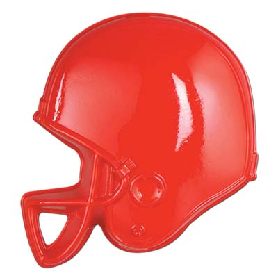 Plastic Football Helmets 13in