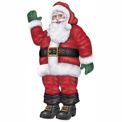 Jointed Santa 5ft 6in