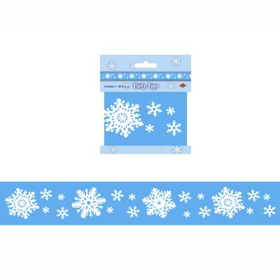 Snowflake Party Tape 3in x 20ft