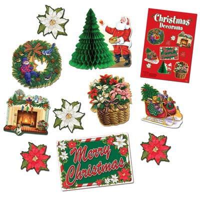 Christmas Decorama 10 Ct
