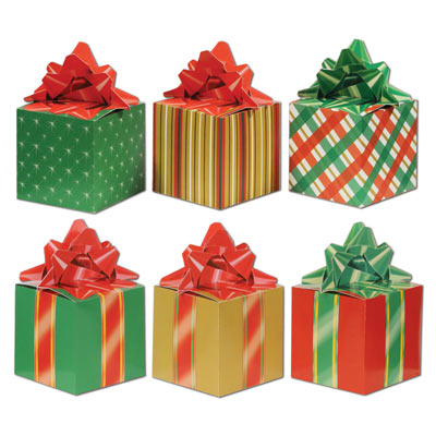 Christmas Favor Boxes 3.25 x 5.75in