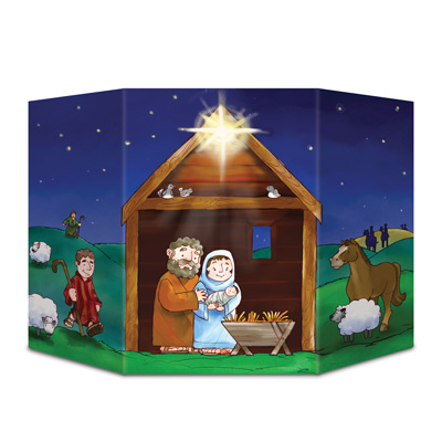Nativity Stand-Up 3ft 1in x 25in