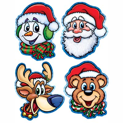 Pkgd Christmas Companion Cutouts 13.5-14in