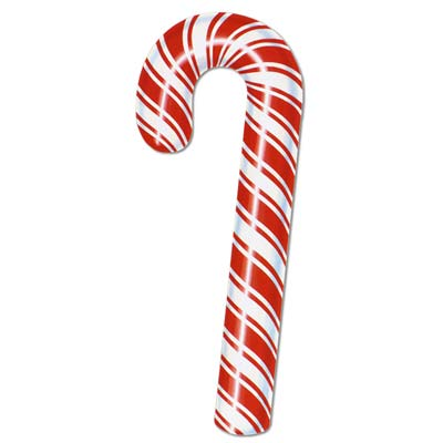 Candy Cane Cutout 27in