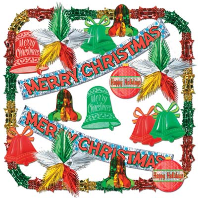 Merry Christmas Met Decorating Kit-20 Ct