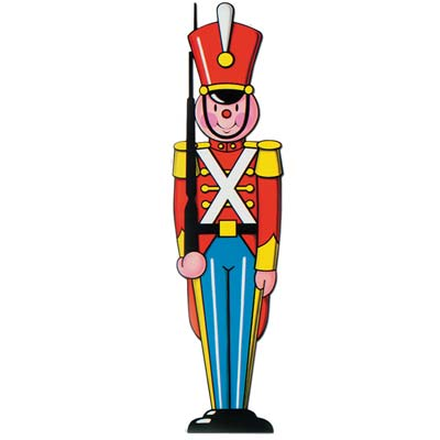 Toy Soldier Cutout 35.5in