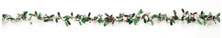Holly 25ft Spiral Wire Garland
