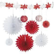 Red & White Snowflake Assortment