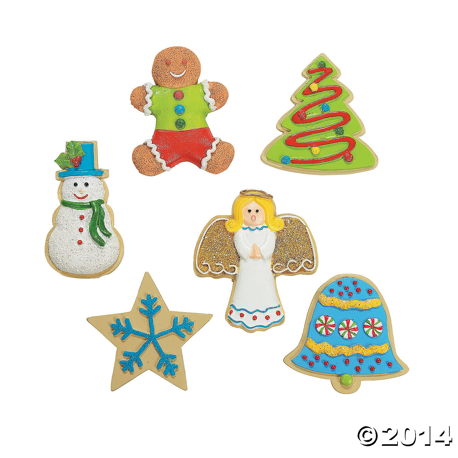 Resin Holiday Sweets Magnets
