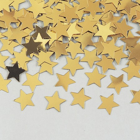 Gold Stars Shaped Confetti