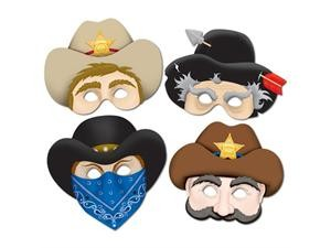 Western Masks- 4ct