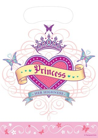 Her Highness Princess Loot Bags- 8ct