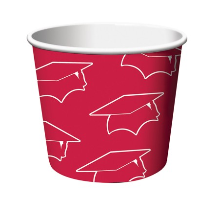 Red Grad Treat Cups