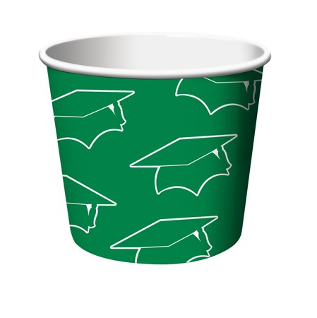 Green Grad Treat Cups