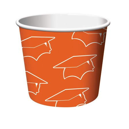 Orange Grad Treat Cups