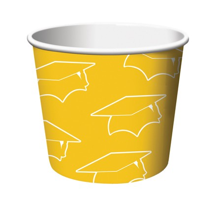 Yellow Grad Treat Cups
